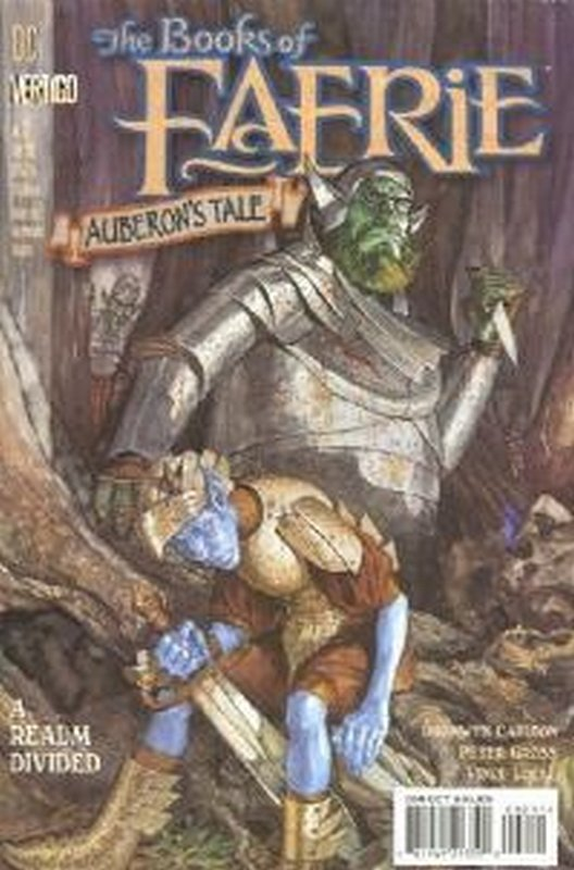Cover of Books of Faerie: Auberons Tale (1998 Ltd) #2. One of 250,000 Vintage American Comics on sale from Krypton!