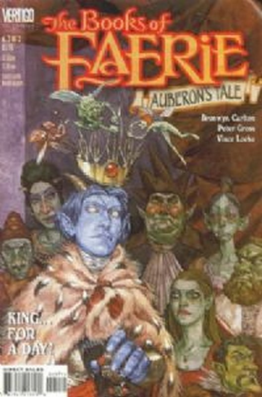 Cover of Books of Faerie: Auberons Tale (1998 Ltd) #3. One of 250,000 Vintage American Comics on sale from Krypton!