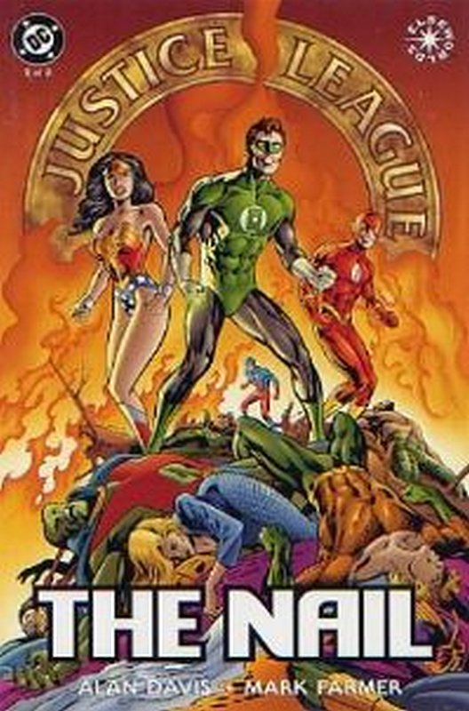 Cover of JLA: The Nail (1998 Ltd) #2. One of 250,000 Vintage American Comics on sale from Krypton!