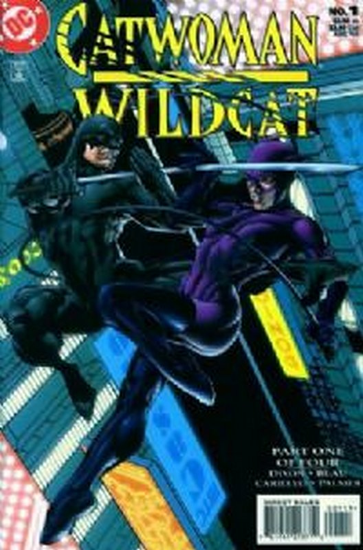 Cover of Catwoman/Wildcat (1998 Ltd) #1. One of 250,000 Vintage American Comics on sale from Krypton!