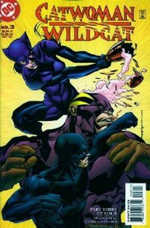 Cover of Catwoman/Wildcat (1998 Ltd) #3. One of 250,000 Vintage American Comics on sale from Krypton!