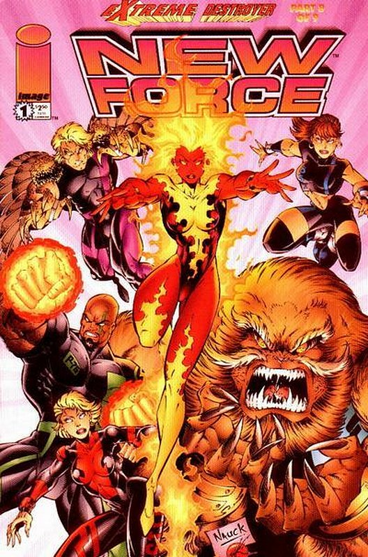 Cover of New Force (1996 Ltd) #1. One of 250,000 Vintage American Comics on sale from Krypton!