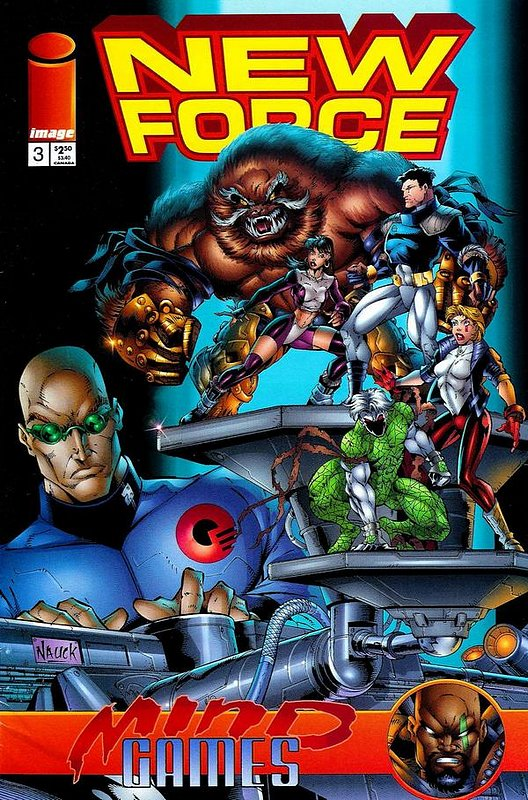 Cover of New Force (1996 Ltd) #3. One of 250,000 Vintage American Comics on sale from Krypton!
