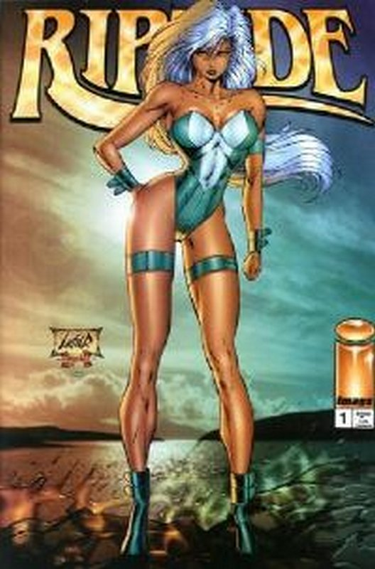 Cover of Riptide (1995 Ltd) #1. One of 250,000 Vintage American Comics on sale from Krypton!
