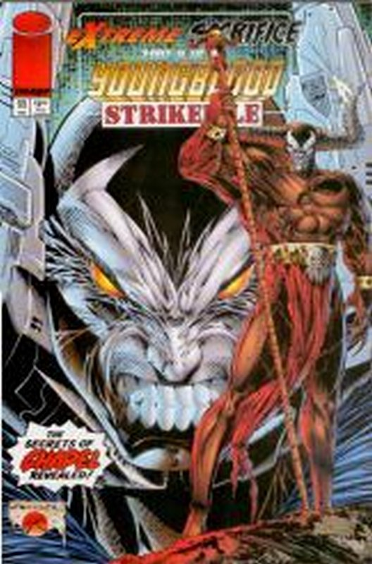 Cover of Youngblood Strikefile (Vol 1) #11. One of 250,000 Vintage American Comics on sale from Krypton!