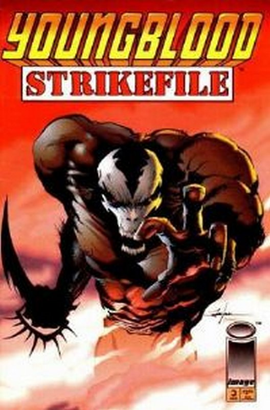 Cover of Youngblood Strikefile (Vol 1) #3. One of 250,000 Vintage American Comics on sale from Krypton!