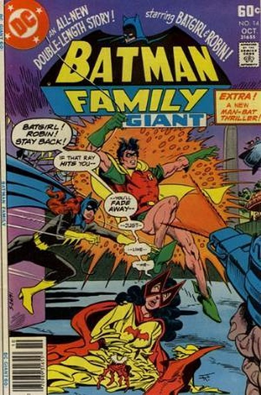 Cover of Batman Family (Vol 1) #14. One of 250,000 Vintage American Comics on sale from Krypton!