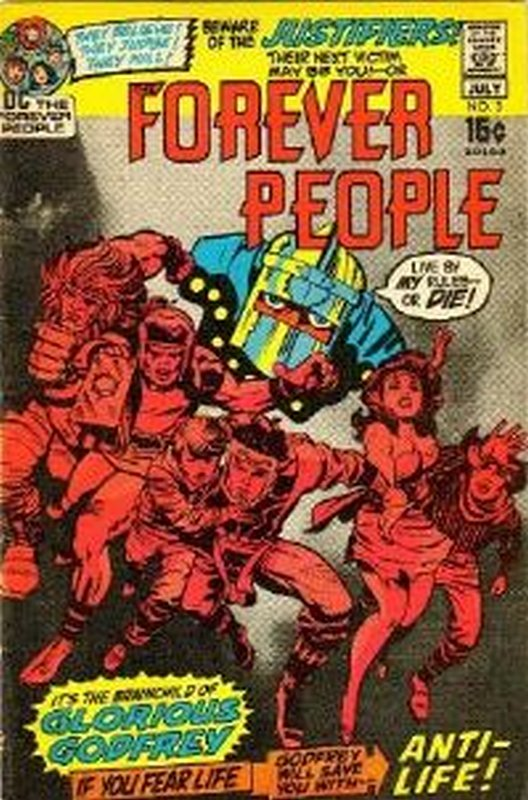 Cover of Forever People (Vol 1) The #3. One of 250,000 Vintage American Comics on sale from Krypton!