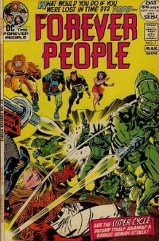 Cover of Forever People (Vol 1) The #7. One of 250,000 Vintage American Comics on sale from Krypton!