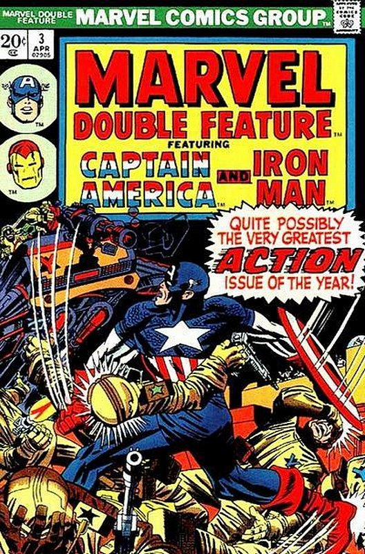 Cover of Marvel Double Feature (Vol 1) #3. One of 250,000 Vintage American Comics on sale from Krypton!
