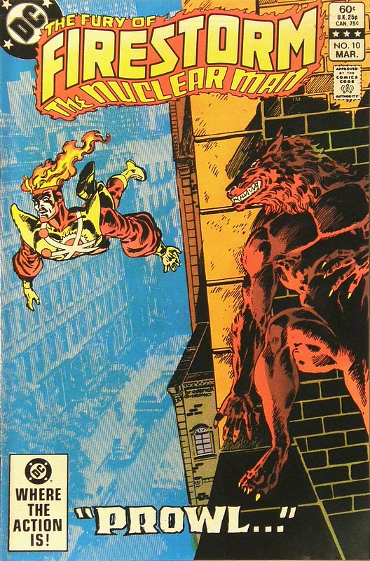Cover of Firestorm (Vol 2) The Fury of #10. One of 250,000 Vintage American Comics on sale from Krypton!
