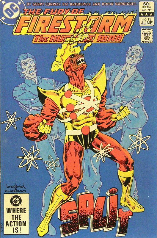 Cover of Firestorm (Vol 2) The Fury of #13. One of 250,000 Vintage American Comics on sale from Krypton!