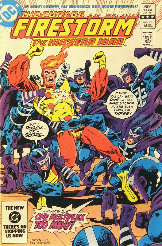 Cover of Firestorm (Vol 2) The Fury of #15. One of 250,000 Vintage American Comics on sale from Krypton!