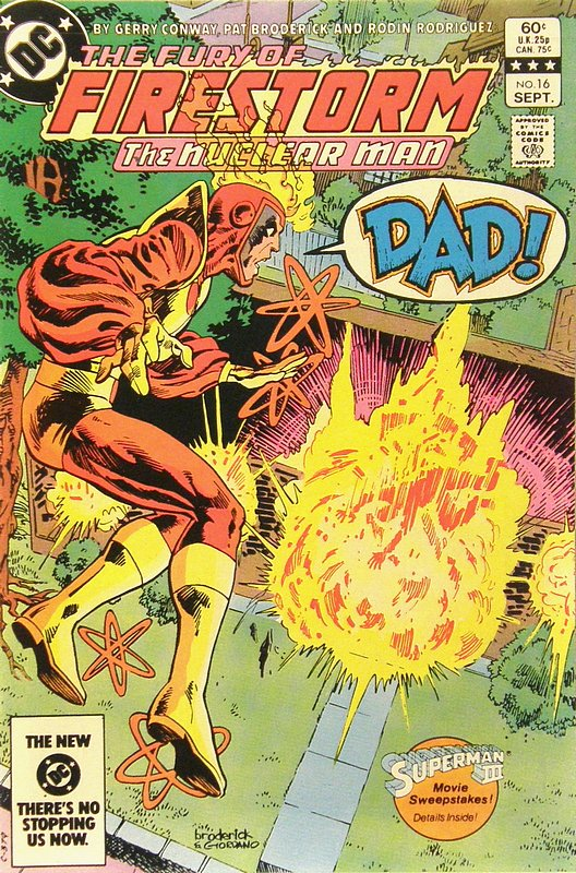 Cover of Firestorm (Vol 2) The Fury of #16. One of 250,000 Vintage American Comics on sale from Krypton!