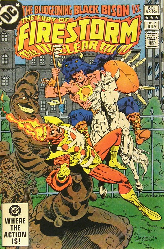 Cover of Firestorm (Vol 2) The Fury of #2. One of 250,000 Vintage American Comics on sale from Krypton!