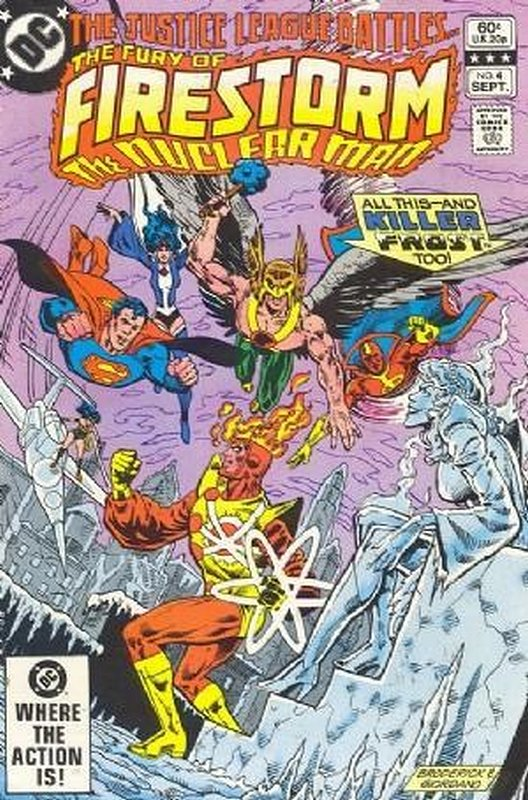 Cover of Firestorm (Vol 2) The Fury of #4. One of 250,000 Vintage American Comics on sale from Krypton!
