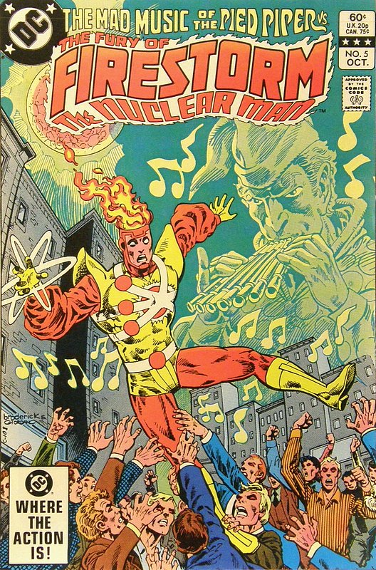 Cover of Firestorm (Vol 2) The Fury of #5. One of 250,000 Vintage American Comics on sale from Krypton!