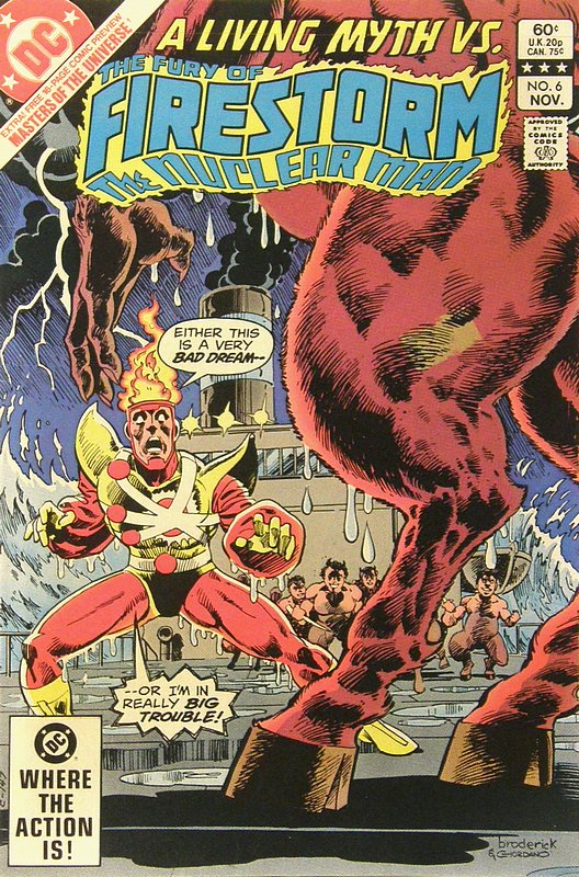 Cover of Firestorm (Vol 2) The Fury of #6. One of 250,000 Vintage American Comics on sale from Krypton!