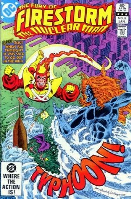 Cover of Firestorm (Vol 2) The Fury of #8. One of 250,000 Vintage American Comics on sale from Krypton!