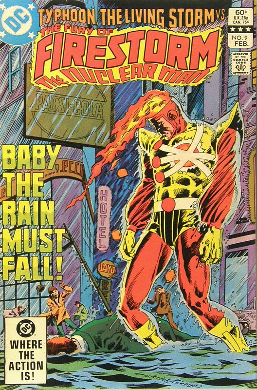 Cover of Firestorm (Vol 2) The Fury of #9. One of 250,000 Vintage American Comics on sale from Krypton!