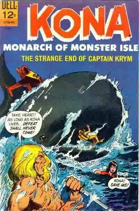 Cover of Kona (Vol 1) Monarch of Monster Isle #18. One of 250,000 Vintage American Comics on sale from Krypton!