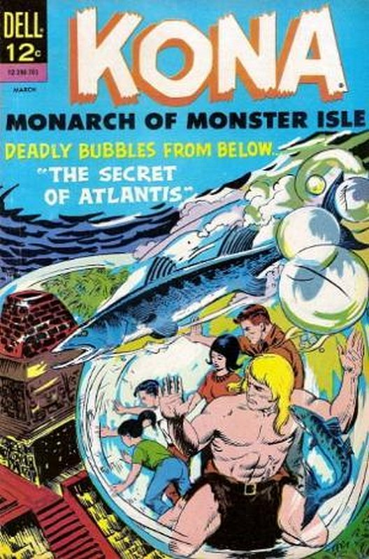 Cover of Kona (Vol 1) Monarch of Monster Isle #21. One of 250,000 Vintage American Comics on sale from Krypton!