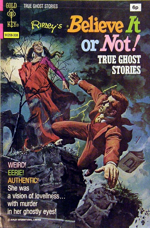 Cover of Ripleys Believe it or not (Vol 2) #42. One of 250,000 Vintage American Comics on sale from Krypton!
