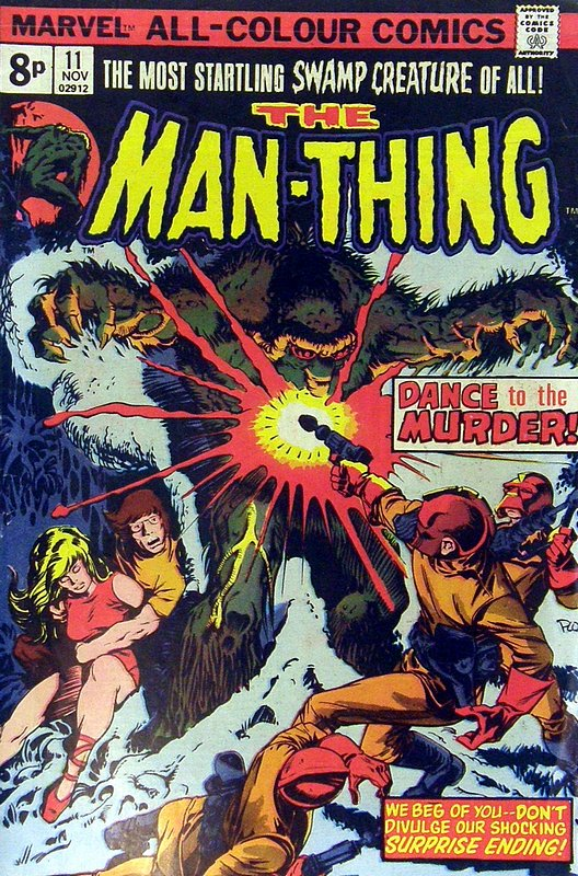 Cover of Man-Thing (Vol 1) #11. One of 250,000 Vintage American Comics on sale from Krypton!