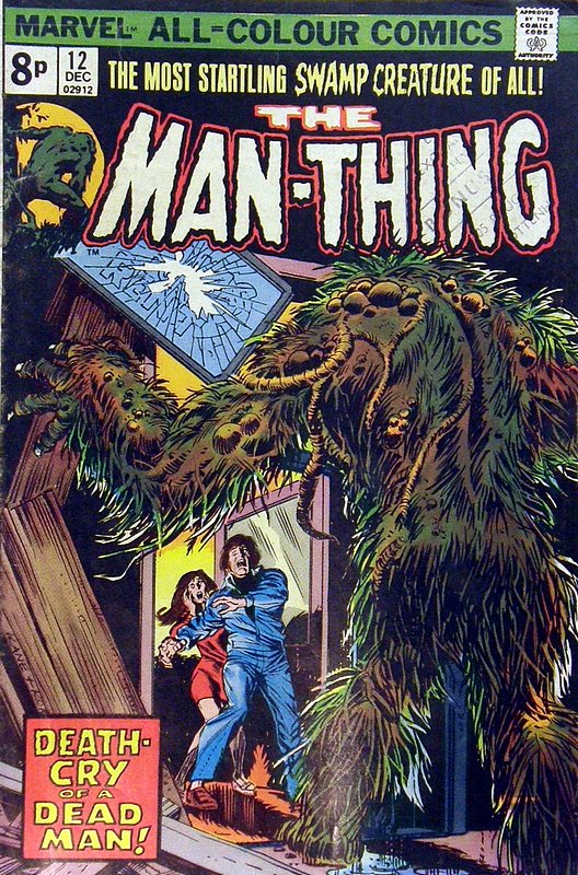 Cover of Man-Thing (Vol 1) #12. One of 250,000 Vintage American Comics on sale from Krypton!