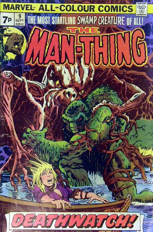 Cover of Man-Thing (Vol 1) #9. One of 250,000 Vintage American Comics on sale from Krypton!