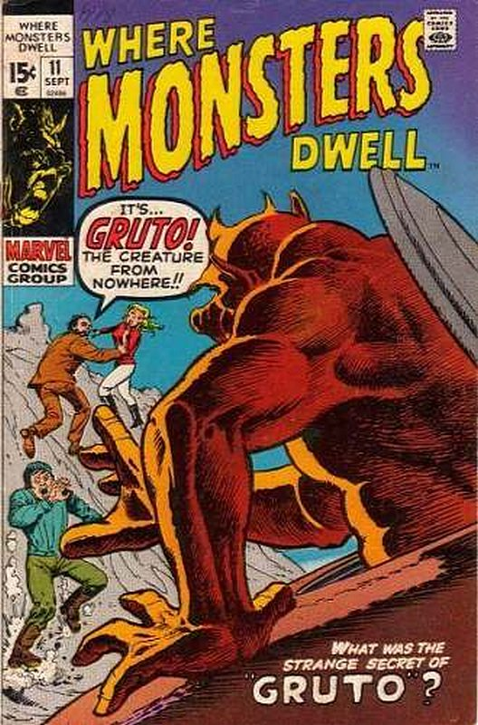 Cover of Where Monsters Dwell (Vol 1) #11. One of 250,000 Vintage American Comics on sale from Krypton!