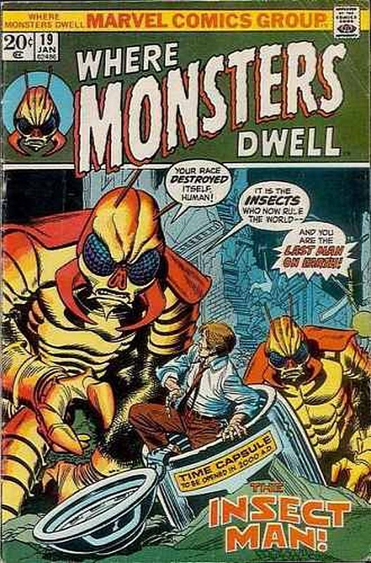 Cover of Where Monsters Dwell (Vol 1) #19. One of 250,000 Vintage American Comics on sale from Krypton!