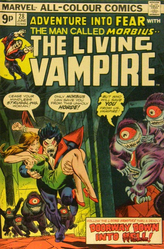 Cover of Adventure into Fear (Vol 1) #28. One of 250,000 Vintage American Comics on sale from Krypton!