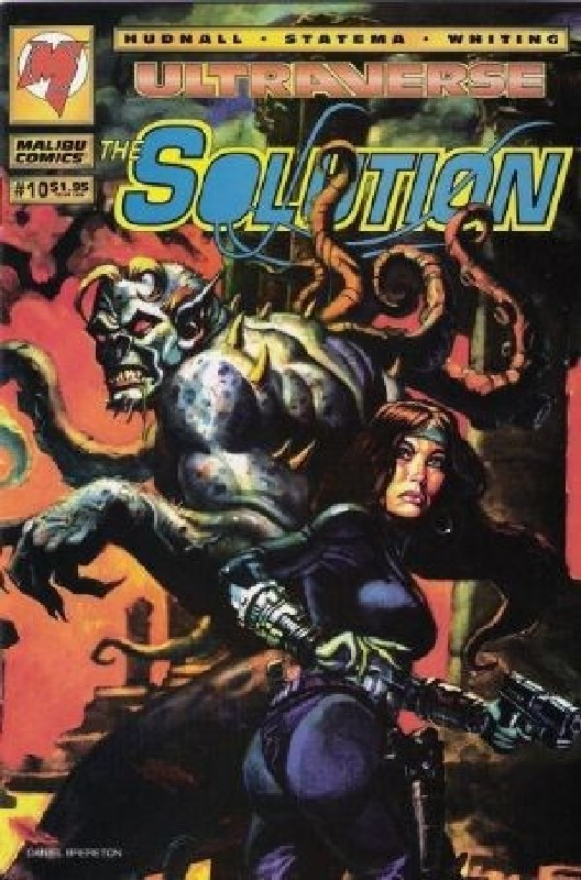 Cover of Solution (Vol 1) The #10. One of 250,000 Vintage American Comics on sale from Krypton!