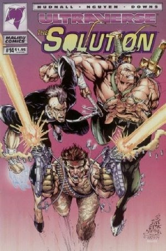 Cover of Solution (Vol 1) The #14. One of 250,000 Vintage American Comics on sale from Krypton!