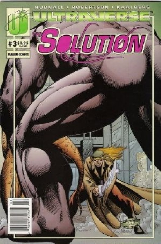 Cover of Solution (Vol 1) The #3. One of 250,000 Vintage American Comics on sale from Krypton!