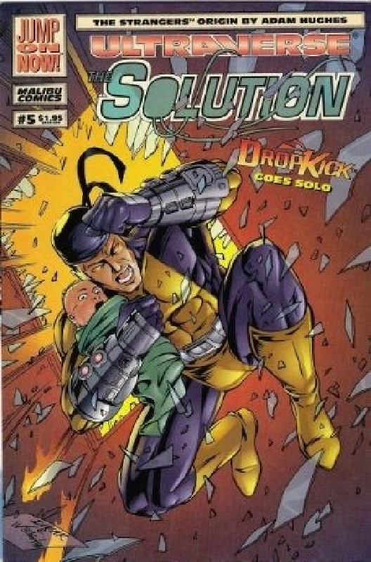 Cover of Solution (Vol 1) The #5. One of 250,000 Vintage American Comics on sale from Krypton!