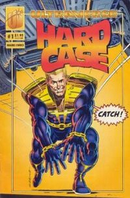 Cover of Hardcase (Vol 1) #1. One of 250,000 Vintage American Comics on sale from Krypton!