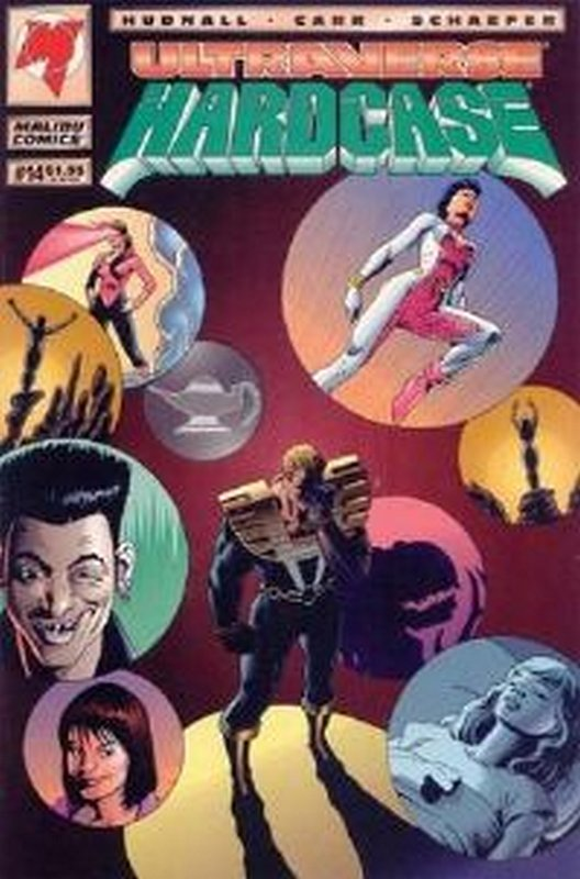 Cover of Hardcase (Vol 1) #14. One of 250,000 Vintage American Comics on sale from Krypton!