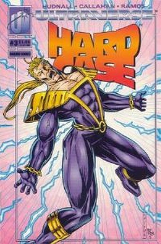 Cover of Hardcase (Vol 1) #3. One of 250,000 Vintage American Comics on sale from Krypton!