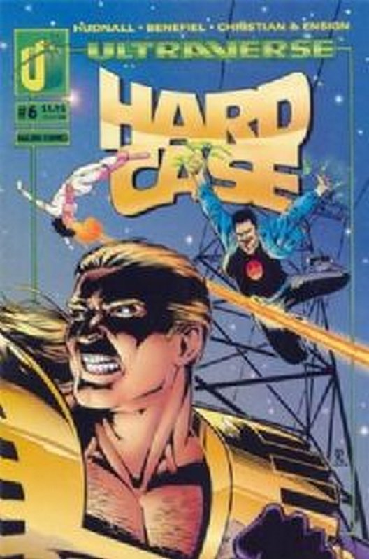 Cover of Hardcase (Vol 1) #6. One of 250,000 Vintage American Comics on sale from Krypton!