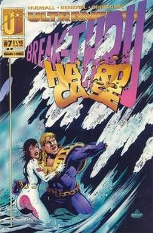 Cover of Hardcase (Vol 1) #7. One of 250,000 Vintage American Comics on sale from Krypton!