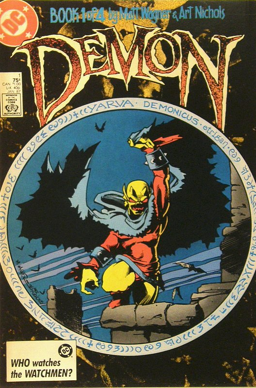 Cover of Demon (1987 Ltd Series) #1. One of 250,000 Vintage American Comics on sale from Krypton!