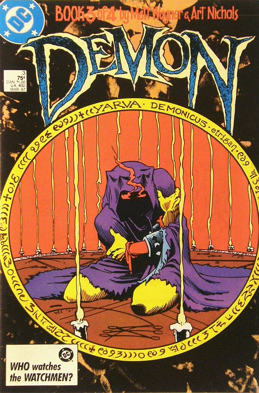 Cover of Demon (1987 Ltd Series) #3. One of 250,000 Vintage American Comics on sale from Krypton!