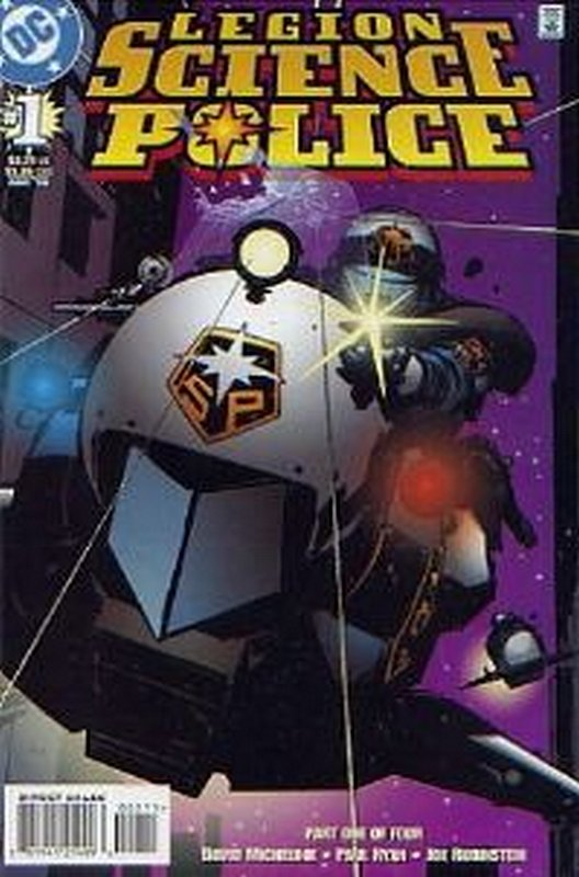 Cover of Legion Science Police (1998 Ltd) #1. One of 250,000 Vintage American Comics on sale from Krypton!