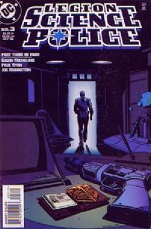 Cover of Legion Science Police (1998 Ltd) #3. One of 250,000 Vintage American Comics on sale from Krypton!