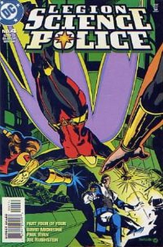 Cover of Legion Science Police (1998 Ltd) #4. One of 250,000 Vintage American Comics on sale from Krypton!