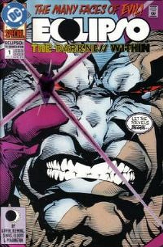 Cover of Eclipso The Darkness Within (1992 Ltd) #1. One of 250,000 Vintage American Comics on sale from Krypton!