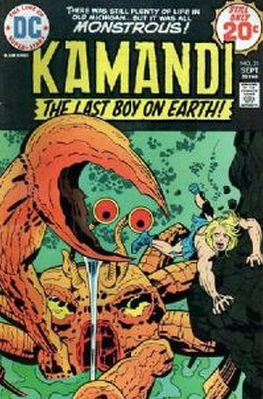 Cover of Kamandi (Vol 1) The Last Boy on Earth #21. One of 250,000 Vintage American Comics on sale from Krypton!
