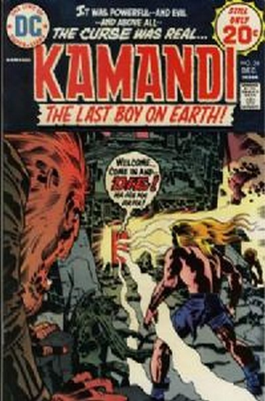 Cover of Kamandi (Vol 1) The Last Boy on Earth #24. One of 250,000 Vintage American Comics on sale from Krypton!